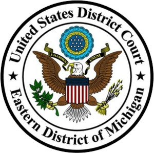 United States District Court for the Eastern District of Michigan - Image: United States District Court for the Eastern District of Michigan seal