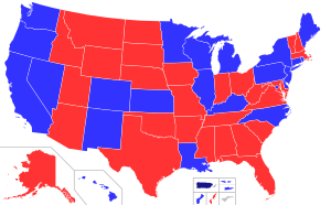 United States Governors map.svg