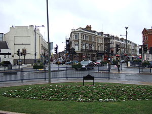 Crystal Palace, London - Image: Upper Norwood Town Centre 1