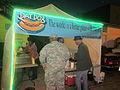 Uptown Parades 7Feb13 Napoleon Dat Dog Stand.JPG