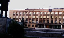 Government building in Uryupinsk