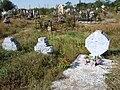 Usatove Cemetery - old graves.jpg