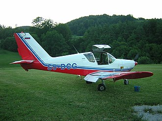 Aircraft industry of Serbia - UTVA 75