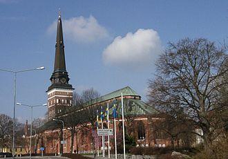 Västerås Cathedral - Image: Västerås domkyrka 2, modified 2