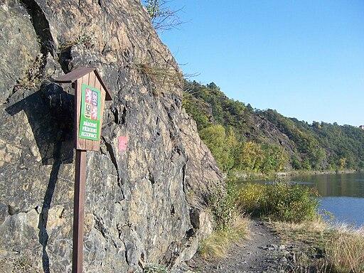 Větrušice, Národní přírodní rezervace Větrušické rokle