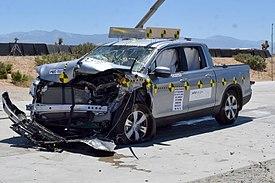 honda ridgeline wikipedia Honda Ridgeline 2016 Redesign News a nhtsa frontal oblique crash test of a 2017 ridgeline reveals an intact cab with no intrusions