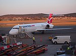 VH-YQT at Canberra Airport February 2014.jpg