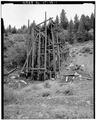 VIEW OF NORTHEAST CORNER OF TIPPLE - Day-Mutual Mine, Burnt Tree Fork, Spring Canyon, Helper, Carbon County, UT HAER UTAH,4-HELP.V,1-1.tif