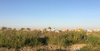 Bentiu - Part of the UN's refugee camp in Bentiu.