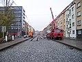 V olšinách, rekonstrukce tramvajové trati (05).jpg