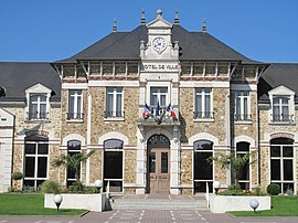The town hall of Vaires-sur-Marne