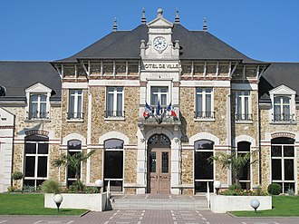 Vaires-sur-Marne - The town hall of Vaires-sur-Marne