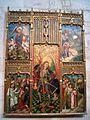 Valladolid - Museo Diocesano y Catedralicio, Capilla de Santa Inés, Retablo de San Miguel.jpg