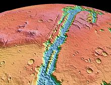 Valles Marineris NASA World Wind map Mars.jpg