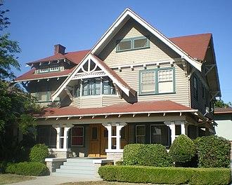 Van Buren Place Historic District - House in Van Buren Place Historic District