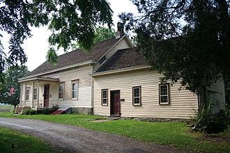Fishkill Creek - Van Wyck Homestead, headquarters of the Fishkill Supply Depot
