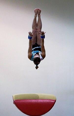 Vault (gymnastics) - Image: Vault figure