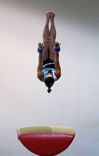 Vaulting Gymnast from Wikipedia