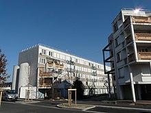 Photographie montrant des immeubles d'habitation dans le quartier de la Grappinière