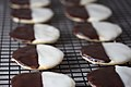 Vegan Black and White Cookies (8746952832).jpg