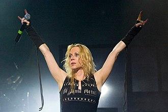 Angela Gossow - Angela Gossow (2007) in São Paulo, Brazil
