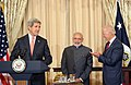 Vice President Joe Biden, Secretary of State John Kerry and PM Narendra Modi.jpg