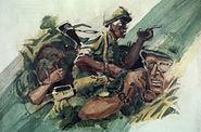 VietnamCombatArtOverTherebyStephenHRandallCATVII1968