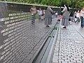 Vietnam Veterans Memorial and nun- panoramio.jpg
