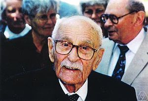 Leopold Vietoris - Leopold Vietoris on his 110th birthday