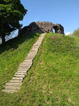Wiston Castle - Wiston Castle in 2018