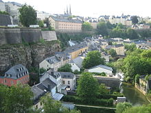 Photo of Garer Quartier in luxembourg city