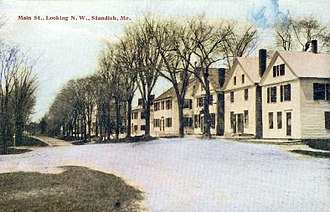 Standish, Maine - View of Standish c. 1910