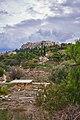 View of the Ancient Agora of Athens from Apostolou Pavlou pedestrian street on November 29, 2020.jpg