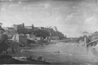 View of the Monte Aventino in Rome