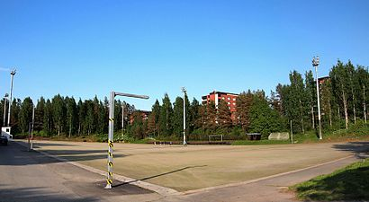 How to get to Viitaniemen Liikuntapuisto with public transit - About the place