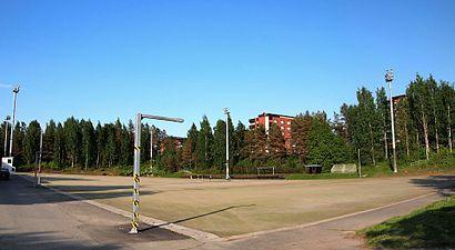 Vägbeskrivningar till Viitaniemen Liikuntapuisto med kollektivtrafik