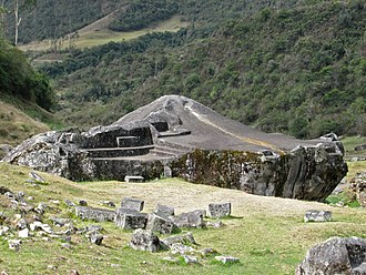 "Ñusta Hispana - Yurac Rumi (""white stone"") at Ñusta Hispana"