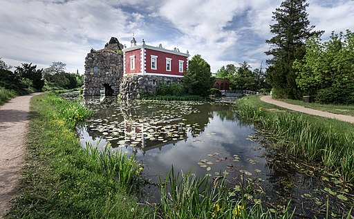 Villa Hamilton im Wörlitzer Park