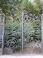 Villa Simonini, cancello liberty 03.JPG