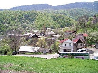 Gosh, Armenia - Image: Village Gosh