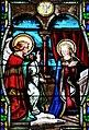 Villeréal - Église Notre-Dame - Vitrail de la vie de Marie -3.jpg