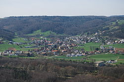 Skyline of Villnachern