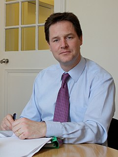Nick Clegg British politician