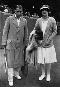 Vincent Richards, Helen Wills, 1926.jpg