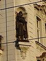 Vinohrady, Vinohradská 64, Nitranská 26, socha Jana Žižky.jpg