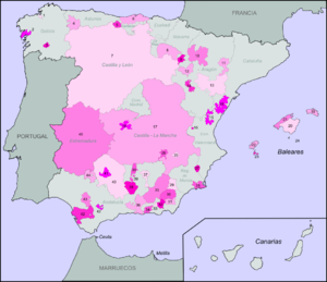 Map Of Spain Vineyards.Spanish Wine Regions Wikipedia