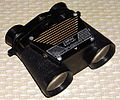 "Vintage Empire ""Binotone"" Binocular AM Transistor Radio, Made In Japan (12845195804).jpg"