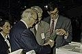 Visite de Mr Curien au SIA 1991-7-cliche Jean Weber.jpg