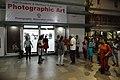 Visitors At Inaugural Day - 45th PAD Group Exhibition Entrance - Kolkata 2019-06-01 1604.JPG