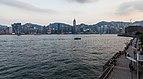 Vista del Puerto de Victoria desde Kowloon, Hong Kong, 2013-08-11, DD 01.JPG